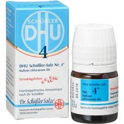 DHU Schüßler Nr. 4 Kalium chloratum D6
