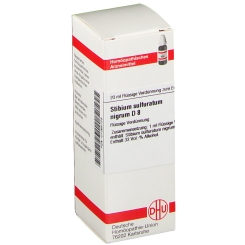 DHU Stibium sulfuratum nigrum D8 Dilution
