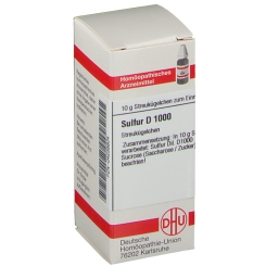 DHU Sulfur D1000 Globuli
