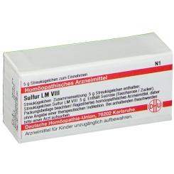 DHU Sulfur LM VIII Globuli