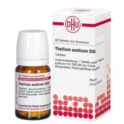 DHU Thallium aceticum D30 Tabletten