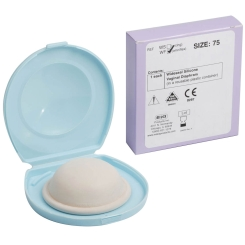 Diaphragma - Milex Wide Seal Silikon 75 mm