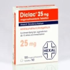 Diclac 25 Tabletten