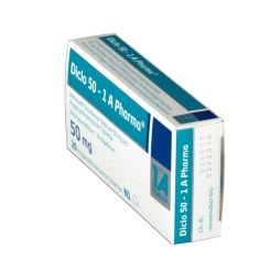 Diclo 50 1a Pharma Tabletten magensaftresistent