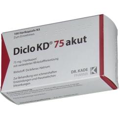 Diclo Kd 75 akut Kapseln magensaftresistent
