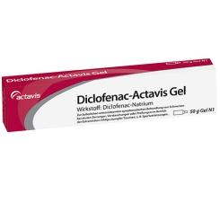 Diclofenac-Actavis Gel