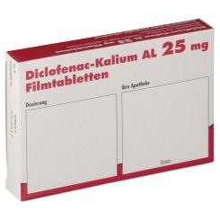 Diclofenac-Kalium AL 25 mg Filmtabletten