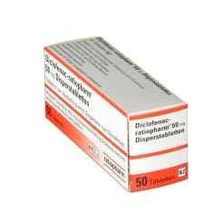 Diclofenac ratiopharm 50 mg Trinktabletten