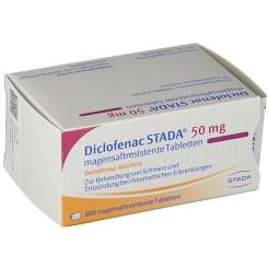 Diclofenac Stada 50 Filmtabletten