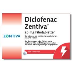 Diclofenac Zentiva® 25mg