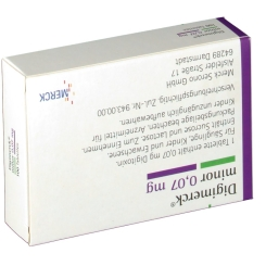 Digimerck minor 0,07 Tabletten