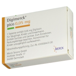 Digimerck pico 0,05 Tabletten