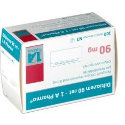 Diltiazem 90 Retard 1 A Pharma Retardtabletten