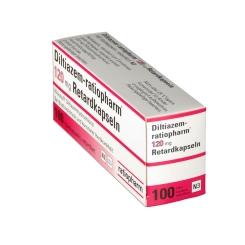 Diltiazem ratiopharm 120 Retardkapseln