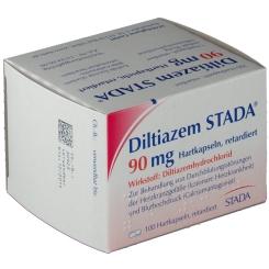 Diltiazem Stada 90 retard Kaps.