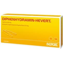 DIPHENHYDRAMIN-HEVERT® Ampullen