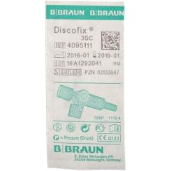 Discofix® Dreiwegehahn blau