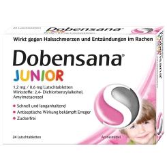 Dobensana® Junior 1,2 mg/0,6 mg Lutschtabletten