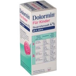 Dolormin® für Kinder 4% Ibuprofensaft