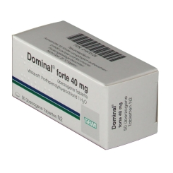Dominal forte 40 mg Dragees