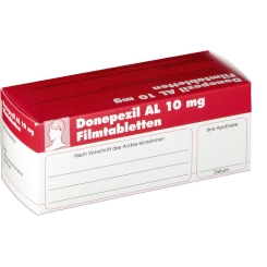 Donepezil AL 10 mg Filmtabletten
