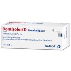 DONTISOLON D Mundheilpaste