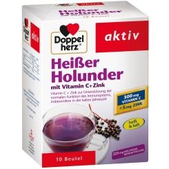 Doppelherz® aktiv Heißer Holunder mit Vitamin C + Zink