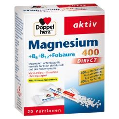 Doppelherz® aktiv Magnesium + B6 + B12 DIRECT