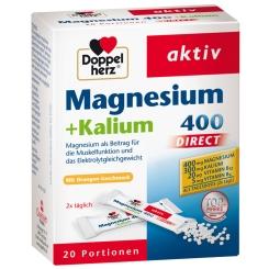 Doppelherz® aktiv Magnesium + Kalium DIRECT