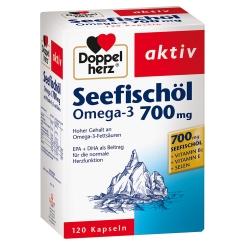 Doppelherz® aktiv Seefischöl Omega-3 700mg Kapseln