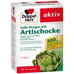 Doppelherz® Galle-Dragee mit Artischocke