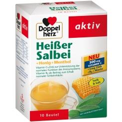 Doppelherz® Heißer Salbei + Honig + Menthol