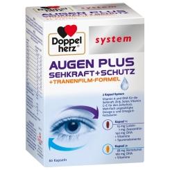 Doppelherz® system AUGEN PLUS SEHKRAFT + SCHUTZ