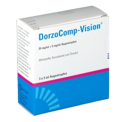 DORZOCOMP Vision 20 mg/ml+5 mg/ml Augentropfen