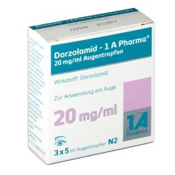 DORZOLAMID 1A Pharma 20 mg/ml Augentropfen