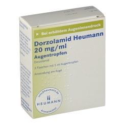 DORZOLAMID Heumann 20 mg/ml Augentropfen