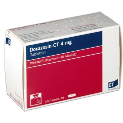 Doxazosin- Ct 4 mg Tabletten