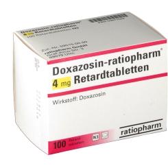 Doxazosin Ratiopharm 4 mg Retardtabletten