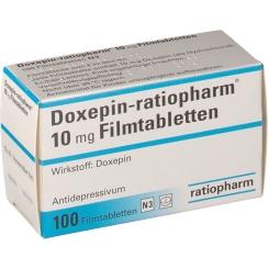DOXEPIN ratiopharm 10 mg