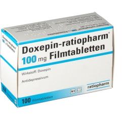 Doxepin ratiopharm 100 Filmtabletten