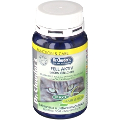 Dr. Clauder's® Best Choice Cat Fell Aktiv Lachs Röllchen