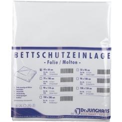 Dr. Junghans® Bettschutzeinlage Folie/Molton 40 cm x 50 cm