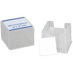 Dr. Junghans® Deckgläser 18 x 18 mm