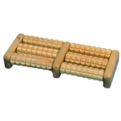Dr. Junghans® Fussmassageroller aus Holz