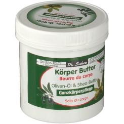 Dr. Sachers Körper Butter Oliven-Öl & Shea-Butter
