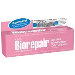 Dr. Wolff's Biorepair® milde mentholfreie Zahncreme