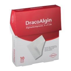 DracoAlgin Alginatkompressen 5 x 5 cm