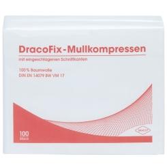 DracoFix Mullkompressen unsteril 8fach 10x10cm
