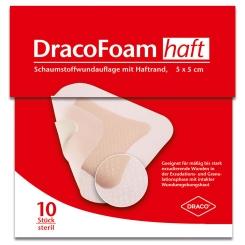 DracoFoam haft steril 5cm x 5cm