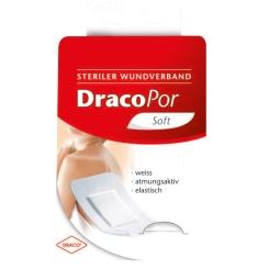 DracoPor Wundverband soft weiß 3,8 cm x 3,8 cm